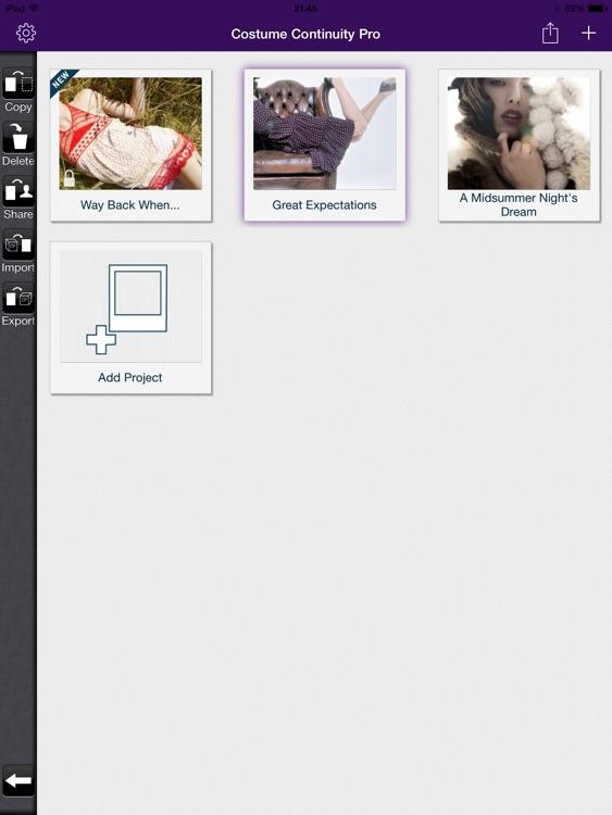 Costume Continuity Pro screenshot-4