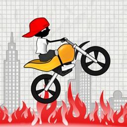 Real Stunt Racing-The Doodle Bike &Car Crash Games