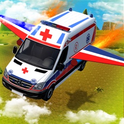 Flying Ambulance Flight Pilot Simulator 3D