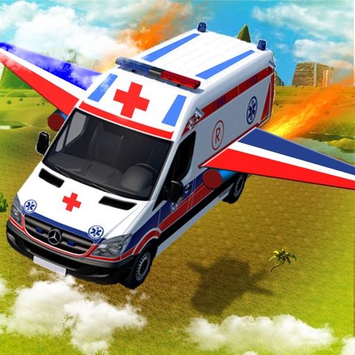 Flying Ambulance Flight Pilot Simulator 3D iOS App