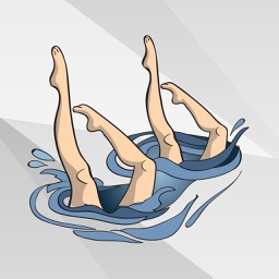 Synchronized Swimming Stickers