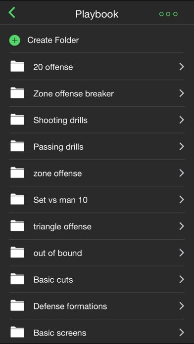 Basketball coach's clipboard Screenshot 3