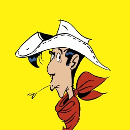 Lucky Luke Stickers