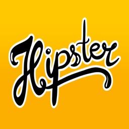 Boho Hipster Sticker Pack for iMessage