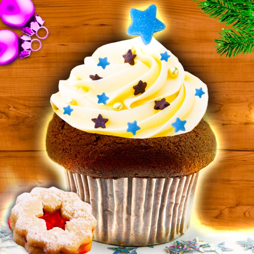 Muffins Cupcakes Christmas German Holiday Recipes icon