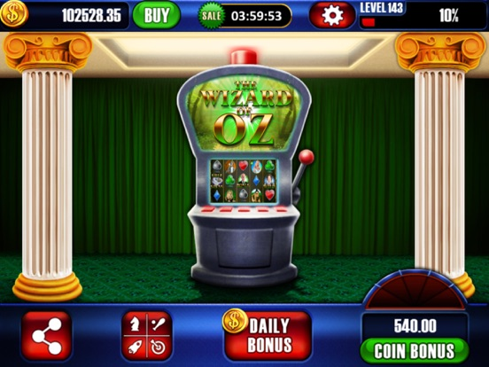 Wizard of oz slots coins
