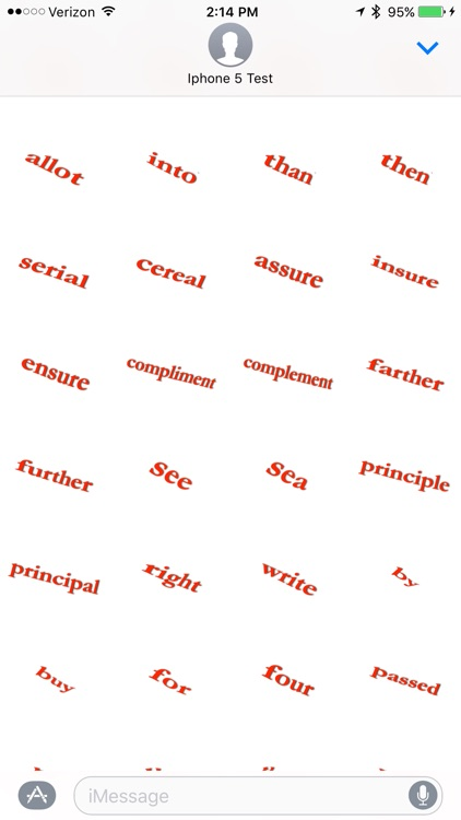 Spell Check - Sticker Pack screenshot-3