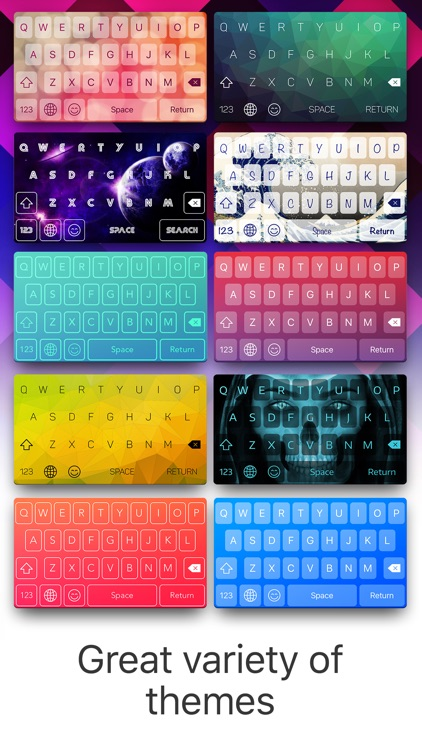 Color Keyboard Maker - Custom Themes & Emoji screenshot-1
