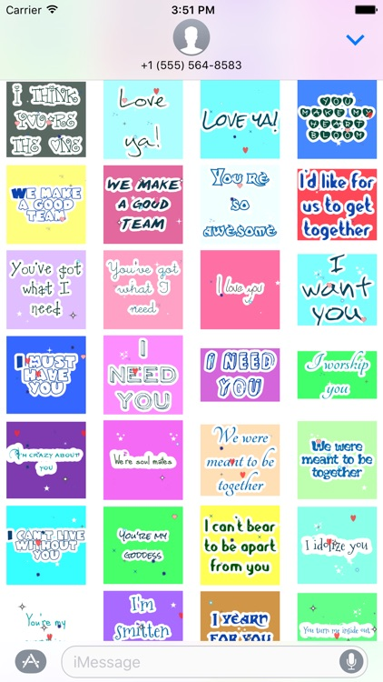 Animated Love Message Gif Stickers screenshot-2