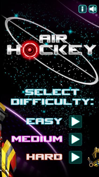 Glow Hockey HD - Neon Light Air Hockey