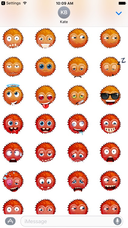 Funny emoticons - Stickers screenshot-3