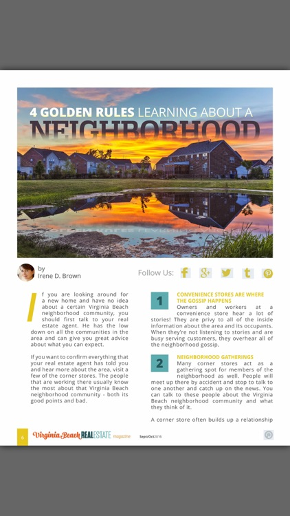 Virginia Beach Real Estate Magazine