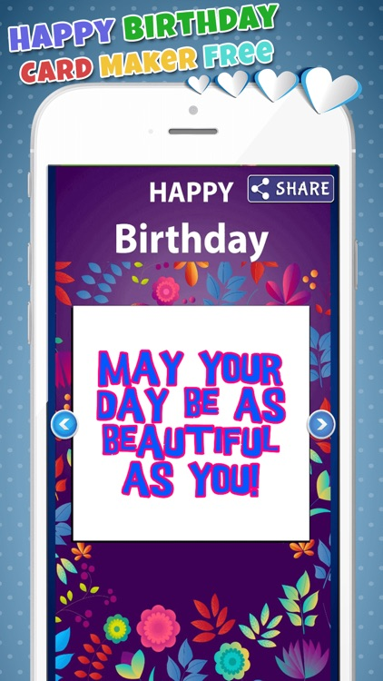 Happy Birthday Card Maker Free–Bday Greeting Cards