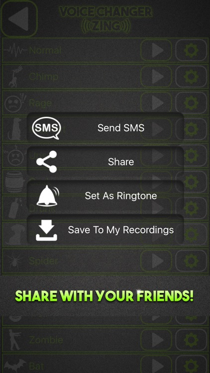 Fun Voice Changer with Prank Sound Effects screenshot-3