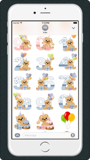 Birthday Emoji Stickers For IMessage App On The Store