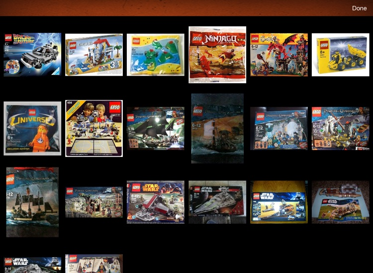 LEGO Collectors for iPad screenshot-2