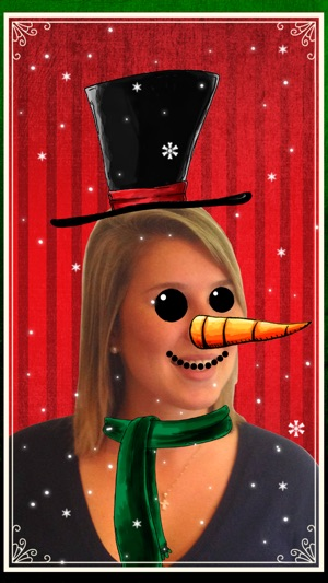 Christmas Booth: Photo Fun Screenshot