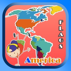 Activities of America Regions Country And Territory Flag Quiz 1