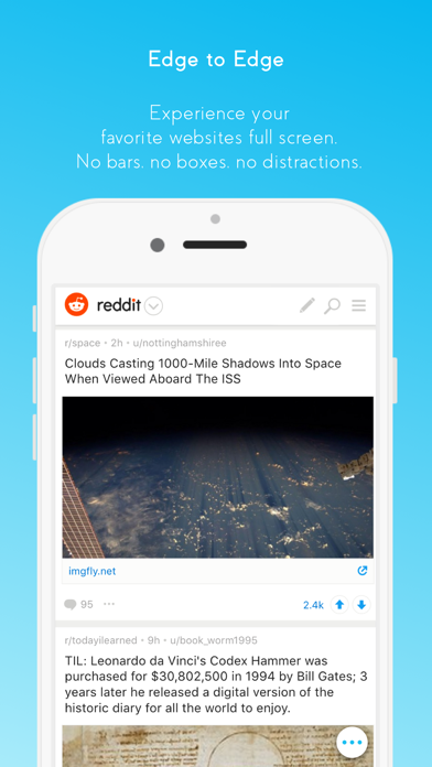 blu - full screen browser by AppMarie UG (iOS, United States