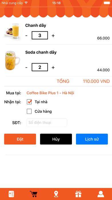 Coffee Bike VietNam screenshot two