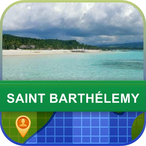 Offline Saint Barthelemy Map - World Offline Maps icon
