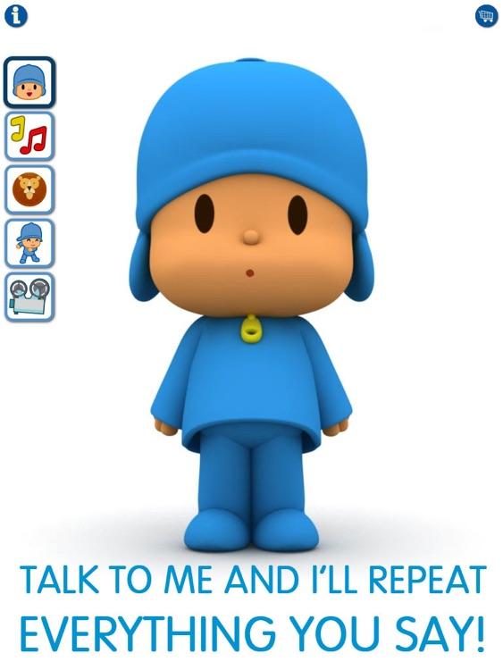 Talking Pocoyo HD screenshot-0