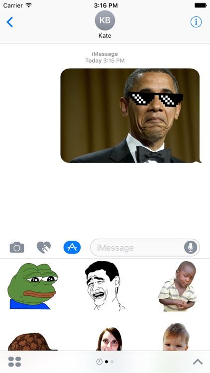 Meme Stickers Pack