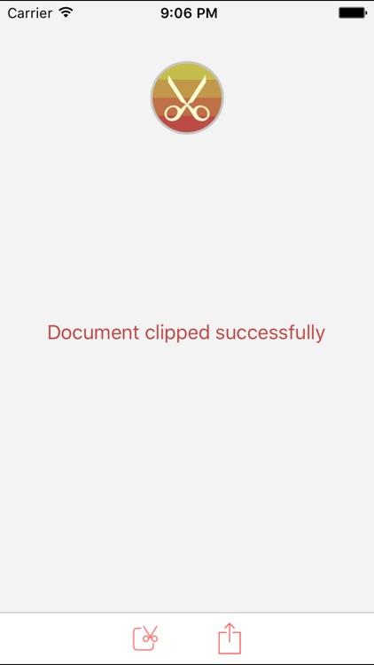 PDF Page Clipper screenshot-4