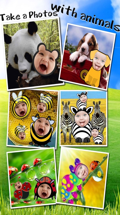 Baby Faces Photo Frames and Stickers screenshot-4