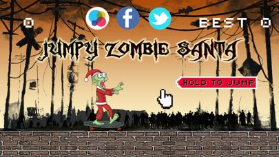 Jumpy Zombie Santa