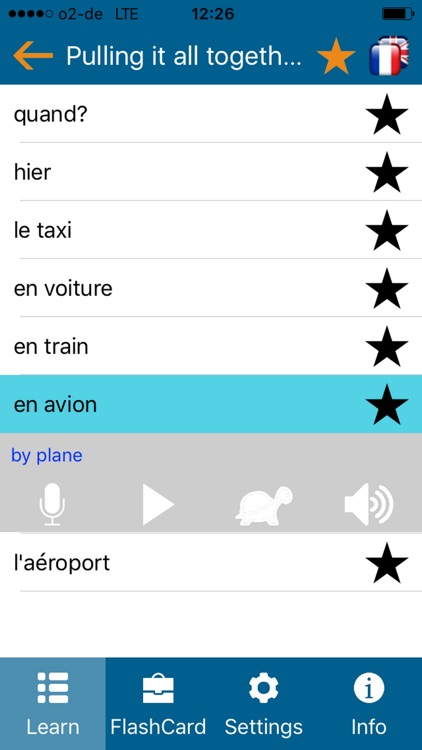 Learn french - phrasebook for Travel in france 2 screenshot-3