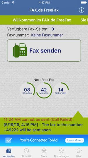 fax de freefax international をapp storeで