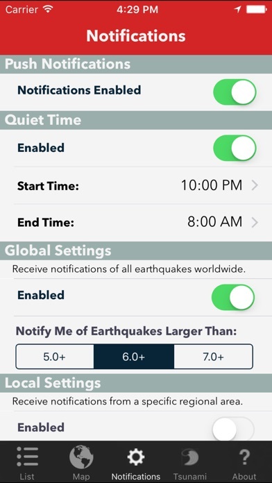 Earthquake Lite review screenshots