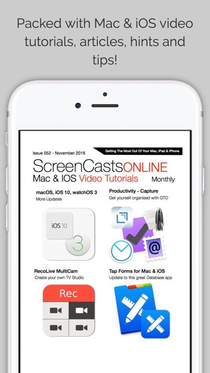 SCO Magazine:  Tutorials for Mac, iPad and iPhone