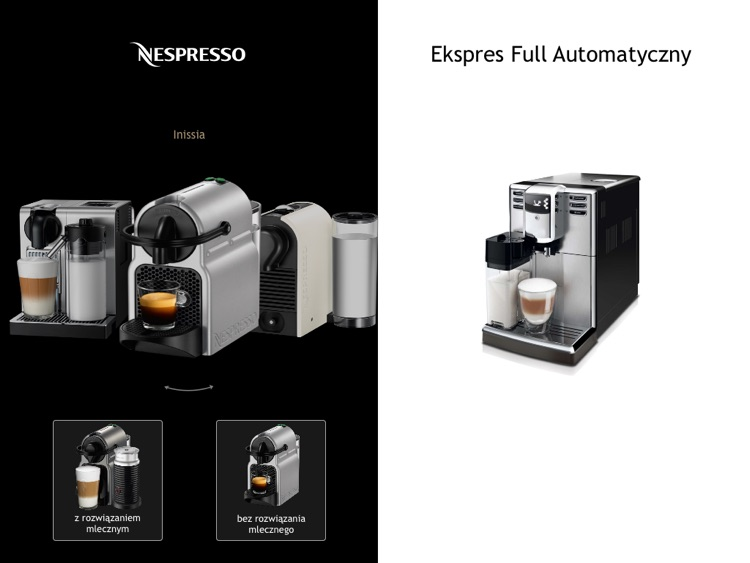 Nespresso.pl screenshot-0
