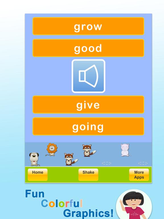 Sight Words Coach Screenshots