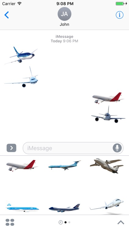 Best Plane Stickers