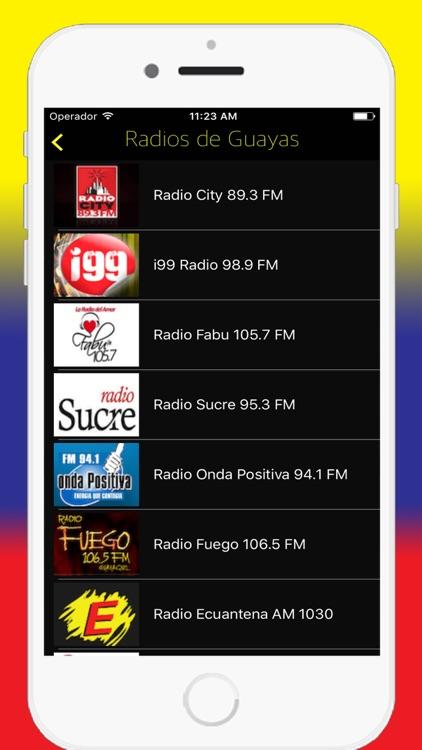 Radios Ecuador FM AM - Live Radio Stations Online screenshot-3