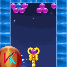 Shoot The Colored Bubble Match Puzzle Game