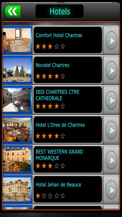 Chartres Offline Map Travel Guide screenshot-1