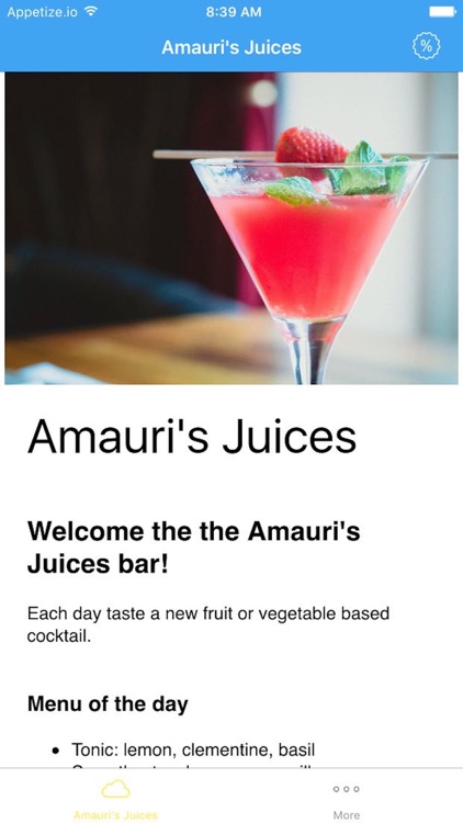 Amauri's Juices