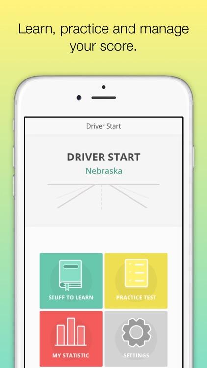 Nebraska DMV - NE Driver License knowledge test