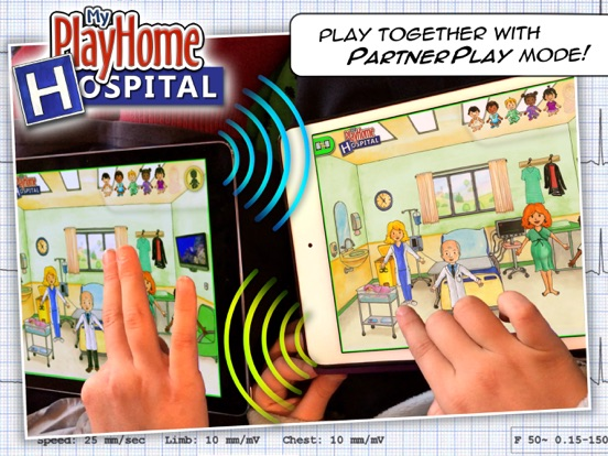 My PlayHome Hospital Screenshots