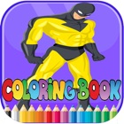 Total hero coloring book - for Kid icon