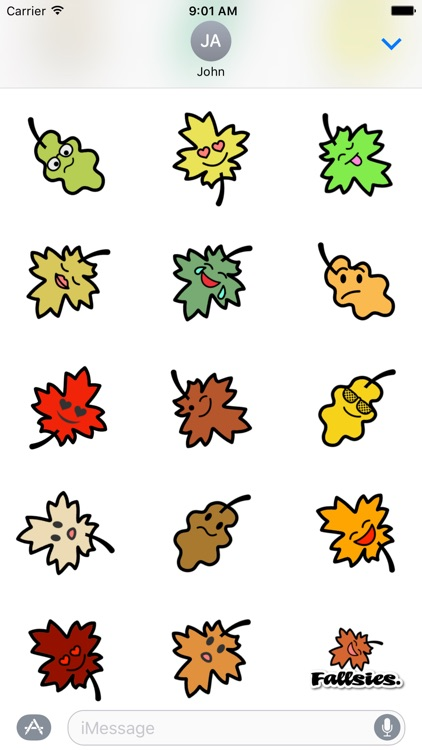 Fallsies! | Autumn Emoji screenshot-2