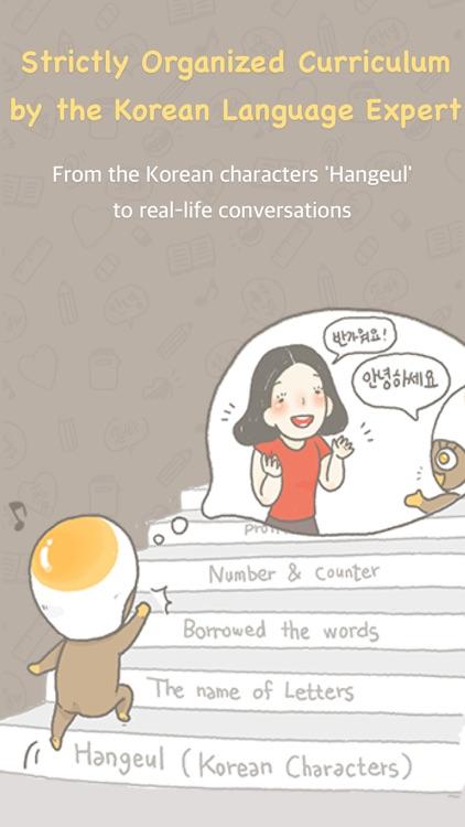 Chat to Learn Korean - Eggbun app image