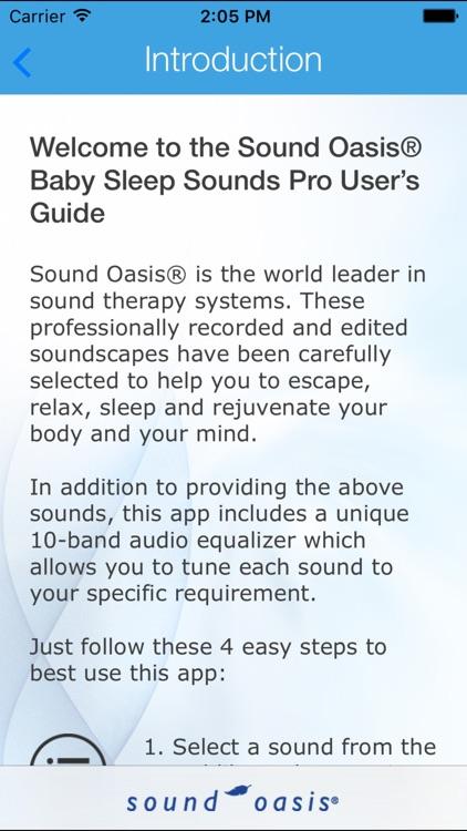 Baby Sounds For Sleep Lite screenshot-4