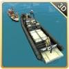 軍ボート海の国境パトロール - 本物のミニ船の航行&射撃シミュレーターのゲーム