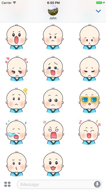 Little Baby Stickers screenshot-3