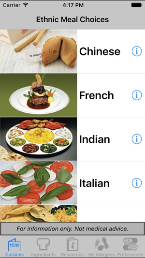 Ieatout gluten free allergy free on the app store screenshots forumfinder Gallery